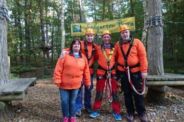 Unser Team vom Kletterwald BinzProra